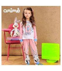 pijama animê coleçáo looney tunes