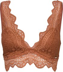 bra julia bralette lingerie bras & tops bralette and corset orange lindex