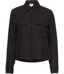 felice shirt overhemd met lange mouwen zwart twist & tango
