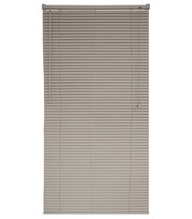 persiana horizontal pvc block 220x100cm bege