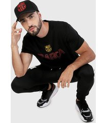 camiseta negro-rojo-amarillo barcelona