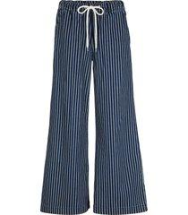 pantaloni a palazzo con cintura (nero) - bpc bonprix collection
