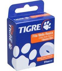 fita veda rosca 18mmx10m - tigre - tigre