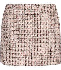 valentino tweed mini skirt