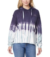 women's c & c california cara hoodie, size small - blue