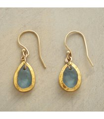aqua oasis earrings