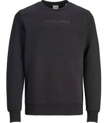 jack & jones sweater - modern fit - zwart