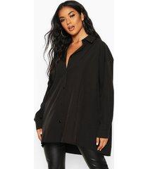 extreme oversized blouse, zwart