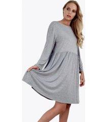 vestido alicia gris jacinta tienda