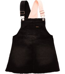 overall corto indigo black offcorss