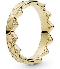 anel pandora shine™ coroa ousada
