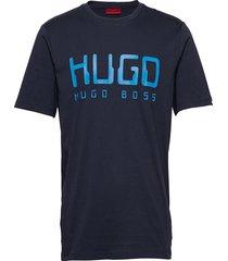 dolive203 t-shirts short-sleeved blå hugo