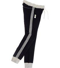 spodnie joggery z lampasami