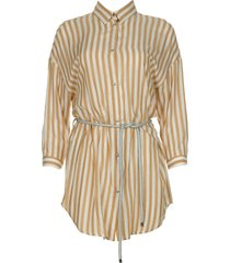 gestreepte blouse paige  bruin