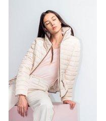 chaqueta para mujer en poliester color-blanco-talla-m