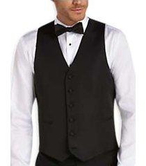 black by vera wang black slim fit tuxedo vest