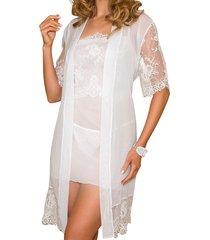 white bella kimono