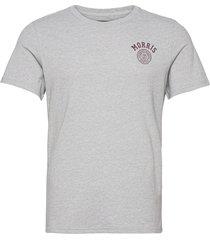 cowper tee t-shirts short-sleeved grå morris