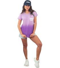 blusa in love t-shirt amor de verão lilas