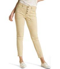 jeans a rayas mostaza rockford