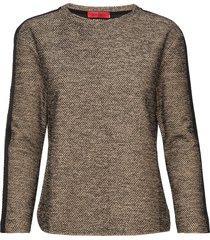 cristina blouse lange mouwen bruin max&co.