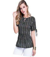 blusa adulto femenino estampado mini print marketing  personal