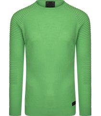 rusty neal pullover shirt heren - 13349 mint groen