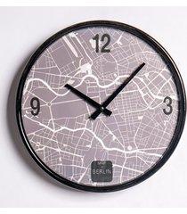 reloj estampado map