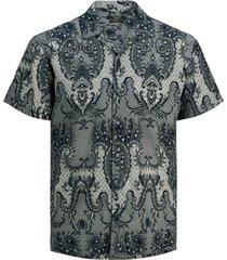 skjorta jprblapase print shirt s/s resort, slim fit