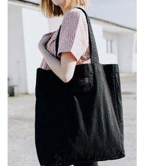 torba dżinsowa czarna