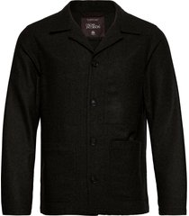 hampus shirt jacket overshirts zwart oscar jacobson