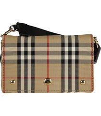 burberry hackberry vintage check shoulder bag