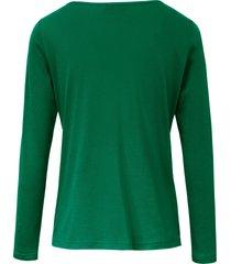 shirt 100% katoen lange mouwen van efixelle groen