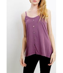 coin 1804 womens button front camisole