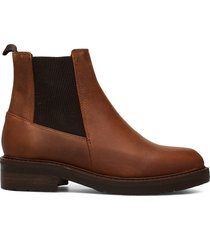 jemma wool shoes chelsea boots brun pavement