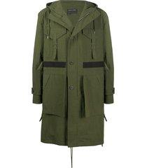 craig green hooded cargo coat