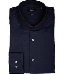 hugo boss overhemd jason slim fit donker 50413812/410