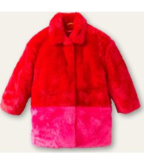 oilily cheerful fake fur jas-