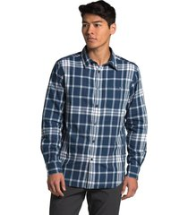 camisa long-sleeve hayden pass 2.0 azul the north face