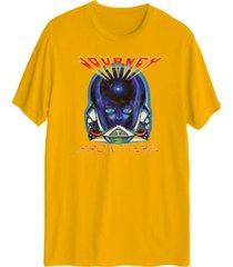 men's journey's music graphic short sleeves t-shirt