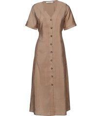 ariennegz dress hs19 jurk knielengte beige gestuz