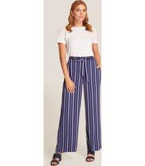 pantalón azul amplio 4