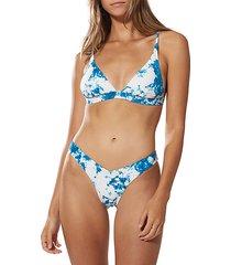 willow beach tall triangle bikini top