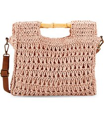 braided straw crossbody bag