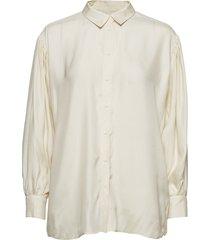 iw50 04 hutton shirt blouse lange mouwen crème inwear