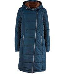 cappotto trapuntato con cerniera asimmetrica (blu) - bpc bonprix collection