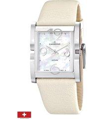 reloj elegance d-light beige  candino