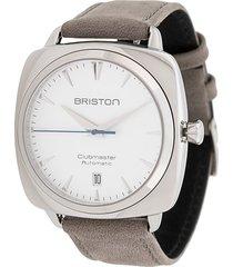 briston watches clubmaster iconic 40mm watch - white
