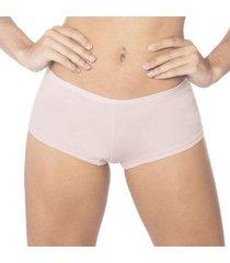 calcinha econfort de algodão modelo boxer coleção gloss feminina - feminino
