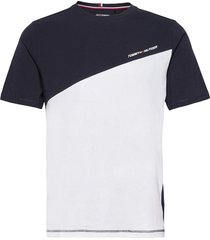 blocked tee t-shirts short-sleeved vit tommy sport